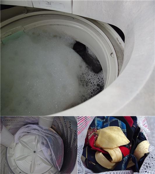 ネクタイ 洗濯6