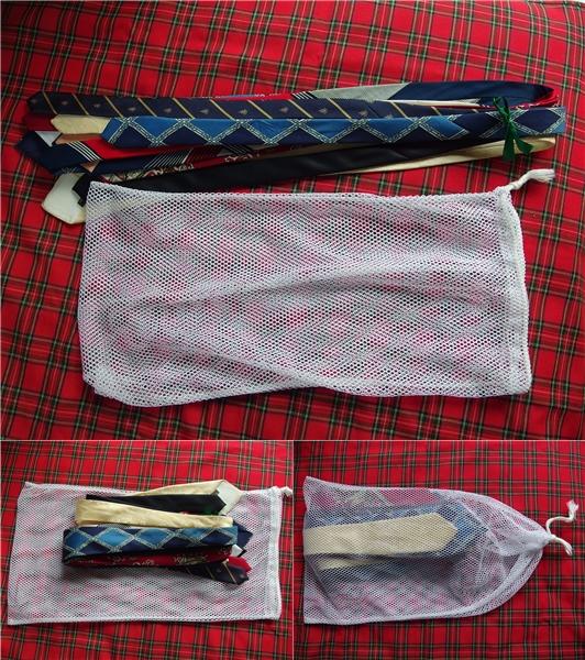ネクタイ 洗濯2