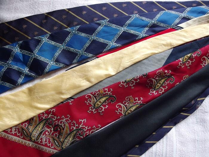 ネクタイ 洗濯7
