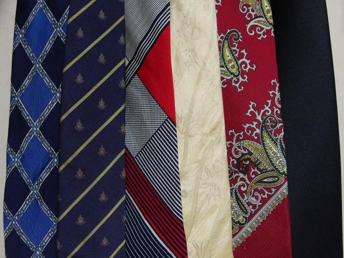 ネクタイ 洗濯9