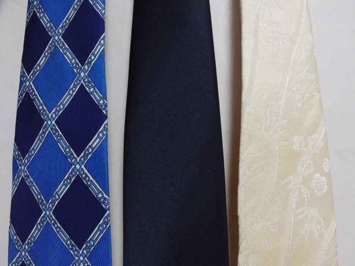 ネクタイ 洗濯12