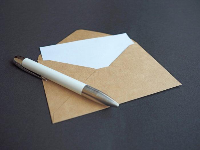 郵便の本人限定受取