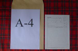 角形2号の封筒の切手代