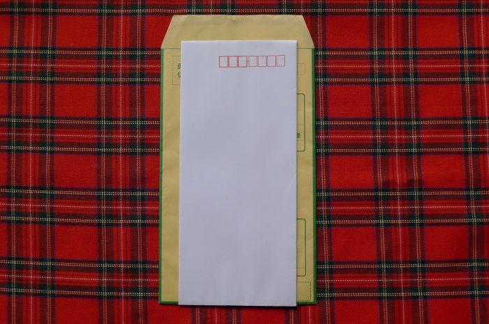 香典を郵送する際の文例