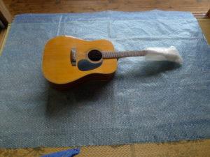ギターの送り方