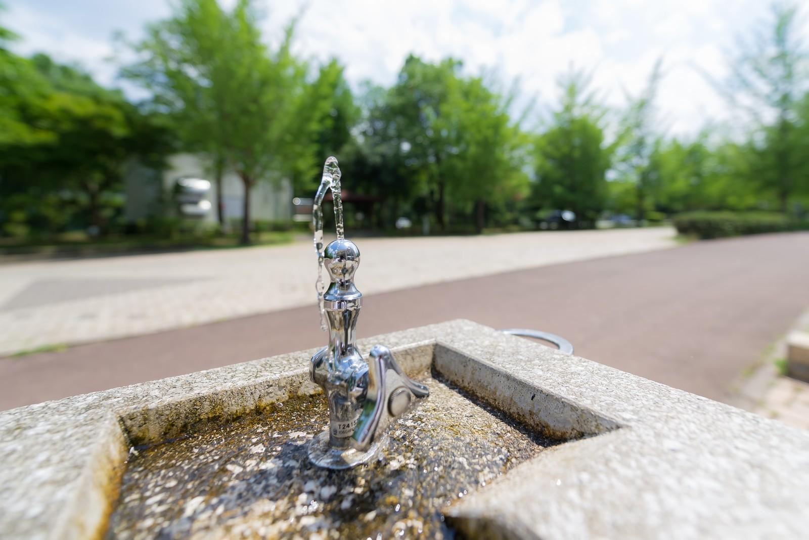 水を1日2リットル飲む